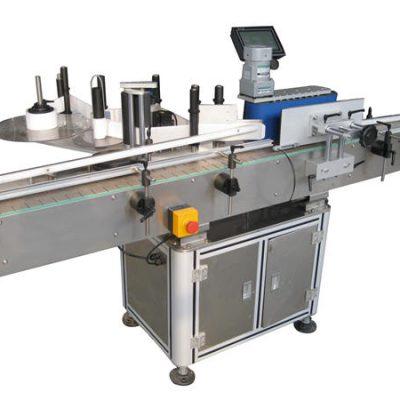 Fabricante de máquina de rotulagem de garrafas redondas de adesivo automático
