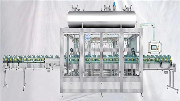 Pesando a máquina de enchimento giratória para o óleo de lubrificantes
