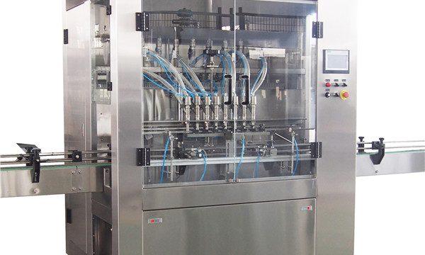 Máquina de enchimento do líquido da lavagem da louça