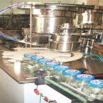 Linha de enchimento do mel 50-500ml, máquina de engarrafamento do mel, máquina de empacotamento do frasco do mel