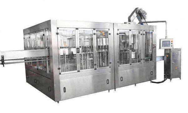 Linha automática da máquina de enchimento do óleo de coco 8000BPH