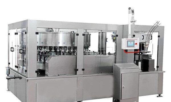 Máquina de enchimento da lata de alumínio para o refresco da bebida energética