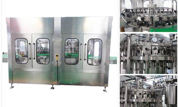 Máquina de engarrafamento automática de vidro de vinho de vodca de cerveja