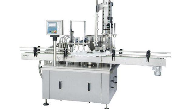 Máquina de enchimento automática de pistão rotativo
