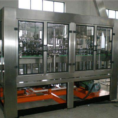 Máquina de enchimento automática de água para garrafas de vidro