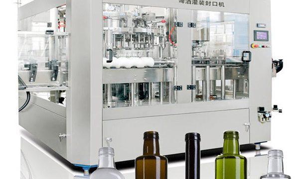 Máquina de enchimento líquida da lata de cerveja