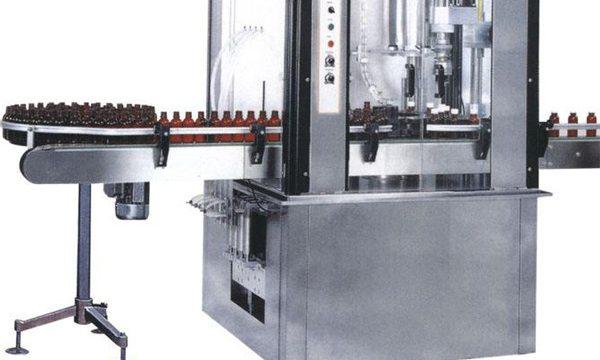 Máquina de engarrafamento tampando de alta velocidade da cápsula