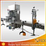 Máquina de enchimento líquida do líquido de limpeza automático da jóia
