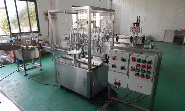 Máquina de enchimento líquida de alta viscosidade automática