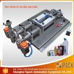 Máquina de enchimento líquida corrosiva anti-espuma semiautomática