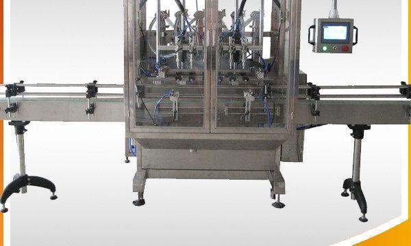 Azeite automático e creme e máquina de enchimento líquida