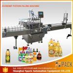 Máquina de enchimento de óleo lubrificante 1L-4L
