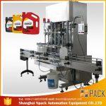 Máquina de enchimento 500ml-2L automática do detergente líquido / máquina de enchimento líquida de lavagem