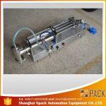 Máquina de enchimento ideal semi-automática do óleo da máquina de enchimento do pistão