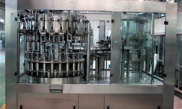 Máquina de enchimento líquida de aço inoxidável automática para o óleo / água refinada