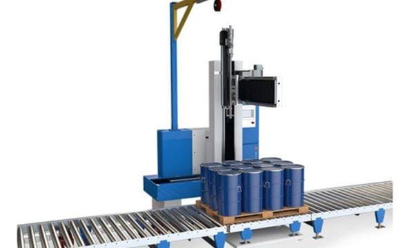 Fabricante da máquina de enchimento de óleo da bicicleta do motor do cilindro de aço 200L