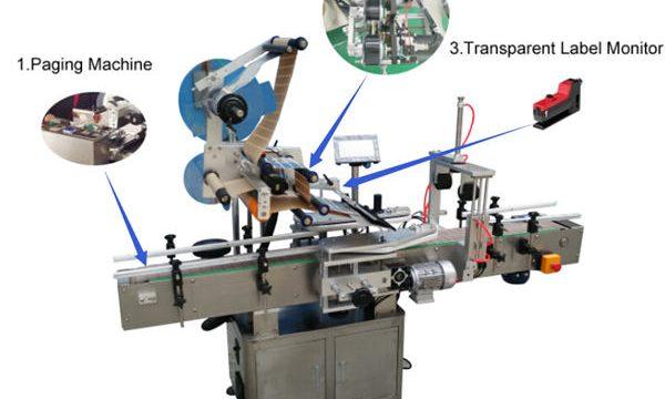 Preço mais baixo, máquina de etiquetas de ampolas de alta qualidade