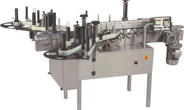 Enrolador horizontal ao redor da máquina de rotulagem de tubos