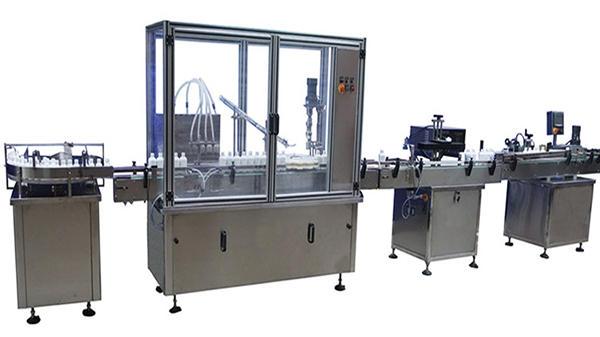 Máquina tampando de parafuso automática completa