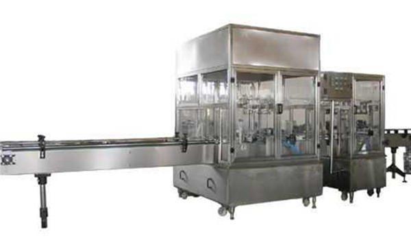 Linha de máquina de enchimento de sabão líquido totalmente automática