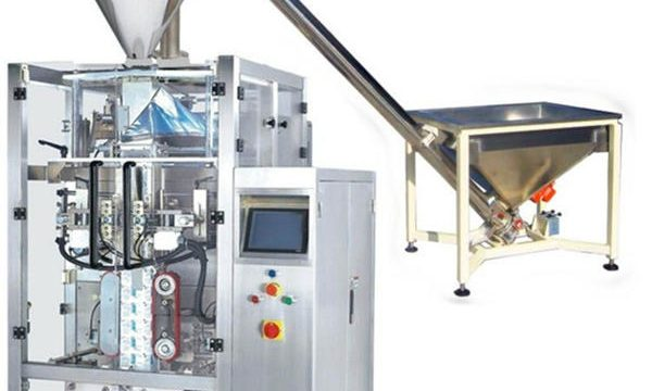Nova máquina de enchimento automática de café em pó
