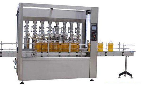 Lubrificação automática da elevada precisão / máquina de enchimento 2000ml-5000ml do óleo comestível