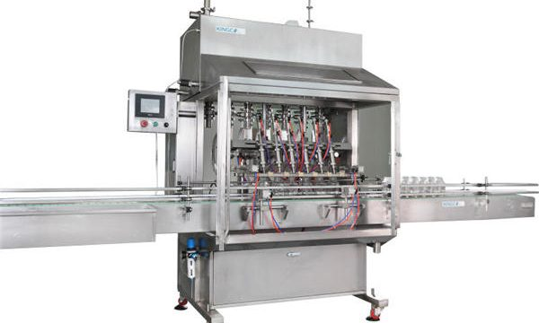 Máquina de enchimento de mel de 6 cabeças