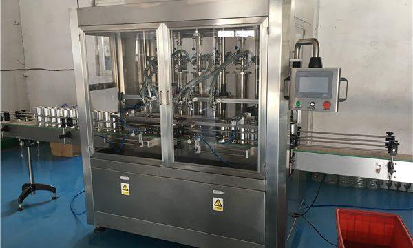 Máquina de enchimento de molho de garrafa de vidro