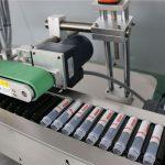 Máquina de etiquetagem horizontal para frascos de injeção automática