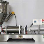 Máquina de enchimento semiautomática pneumática pura do doce de fruto
