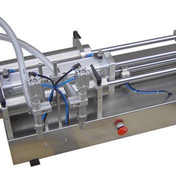 Máquina de enchimento líquida do pistão manual do preço baixo