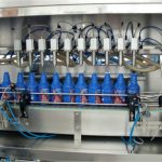 Enchimento automático de azeite e máquina de tampar