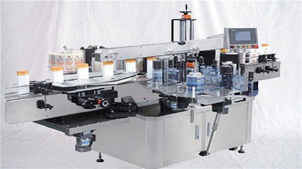 Máquina de etiquetas de superfície superior de garrafa de perfume de vidro