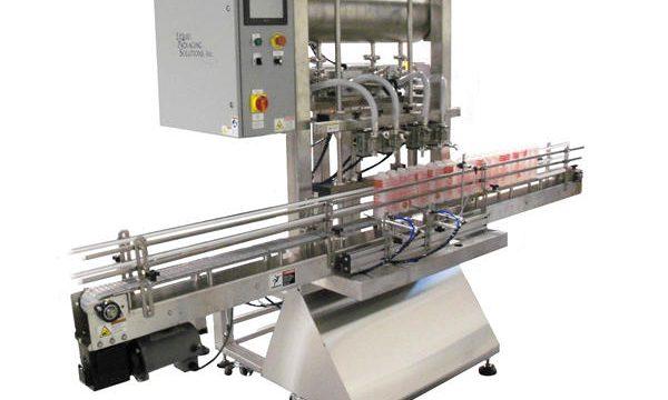 Máquina de enchimento automática de pistão de garrafa
