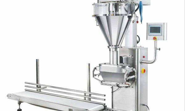 Máquina de enchimento semi-automática de leite em pó