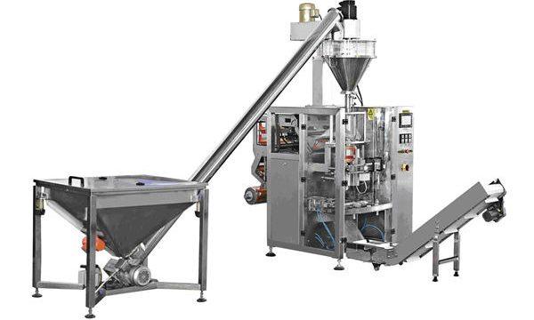 Máquina de enchimento automática do pó da alimentação espiral do tipo garrafa