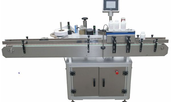 Lados dobro automáticos Llabeling Mmachine para a garrafa de vidro plástica do animal de estimação