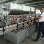 Máquina de enchimento automática do molho de soja 200-1000ml