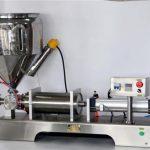 Máquina de enchimento manual para latas