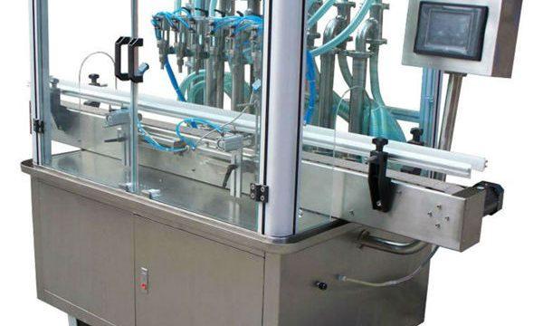 Máquina de enchimento automática de líquido a vácuo com xampu