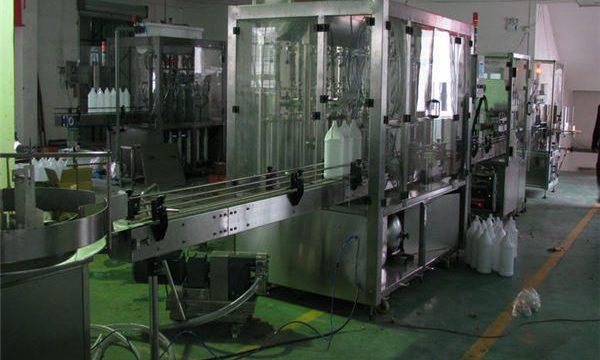 Máquina de enchimento automática do champô / linha de enchimento do champô / champô