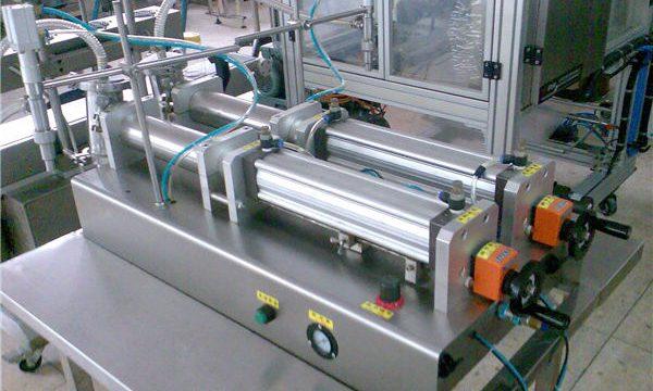 Máquina de enchimento semi-automática do champô do preço competitivo