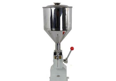 Máquina de enchimento de creme manual pequena