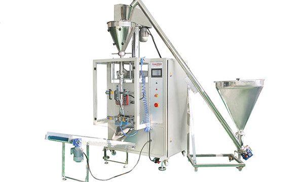 Máquina automática de enchimento e selagem de pó vertical