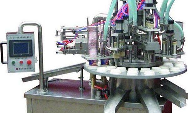 Máquina de enchimento cosmética automática da pomada / creme