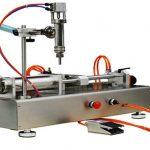Máquina de enchimento de creme pneumática 100-1000ml das cabeças dobro