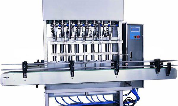 Máquina de enchimento automática de detergente para a roupa