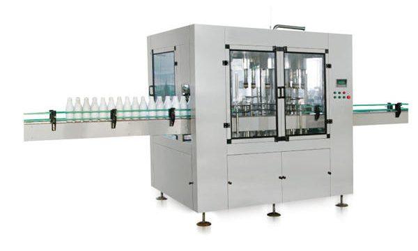 Máquina de enchimento líquida automática do sabão do pistão linear de oito cabeças