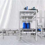 Máquina de enchimento automática personalizável do tambor grande da capacidade da série 100-1000L de ESDF
