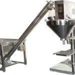 Máquina de enchimento de pó seco semi-automática de enchimento de pó